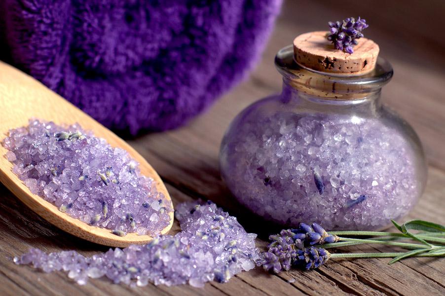 عطر درمانی - نمک حمام