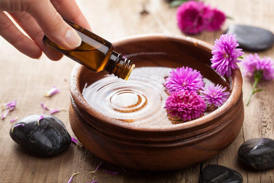 عطر درمانی - رقیق کردن با روغن پایه