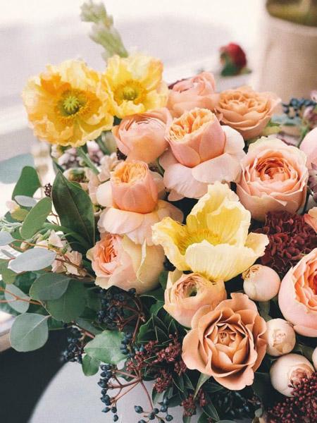 چرخه عطر - خانواده عطرهای گلدار