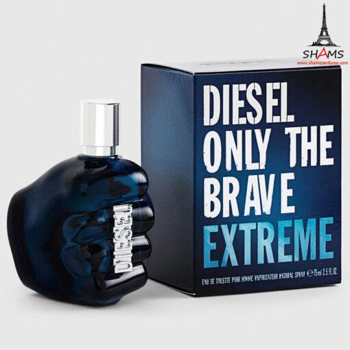 عطر دیزل اونلی د بریو اکستریم - Diesel Only The Brave Extreme For Men Edt 75ml