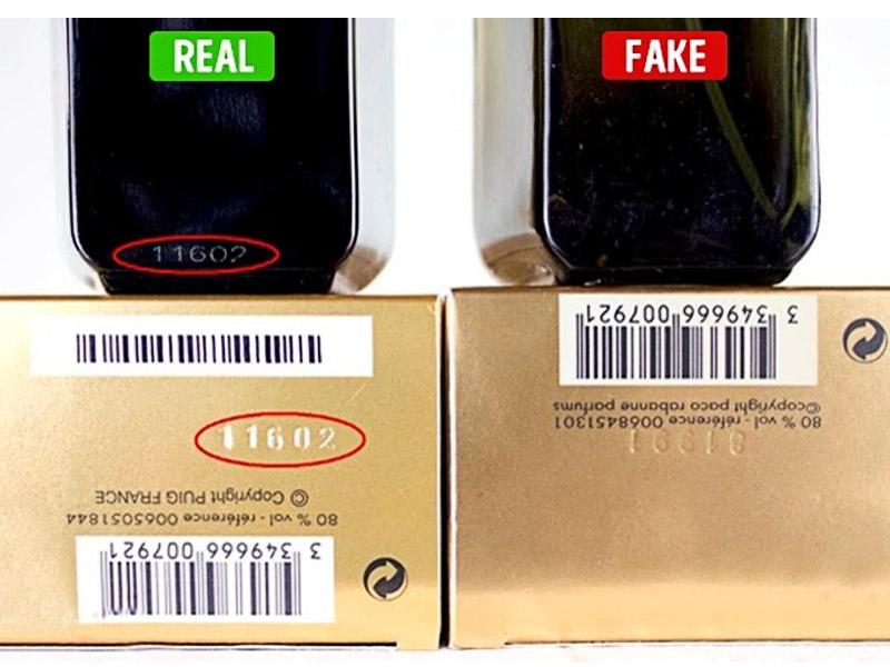 تشخیص عطر اصل از تقلبی - از طریق بچ کد یا سریال نامبر