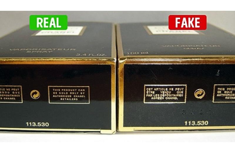 تشخیص عطر اصل از تقلبی - بررسی نوشتههای روی جعبه عطر