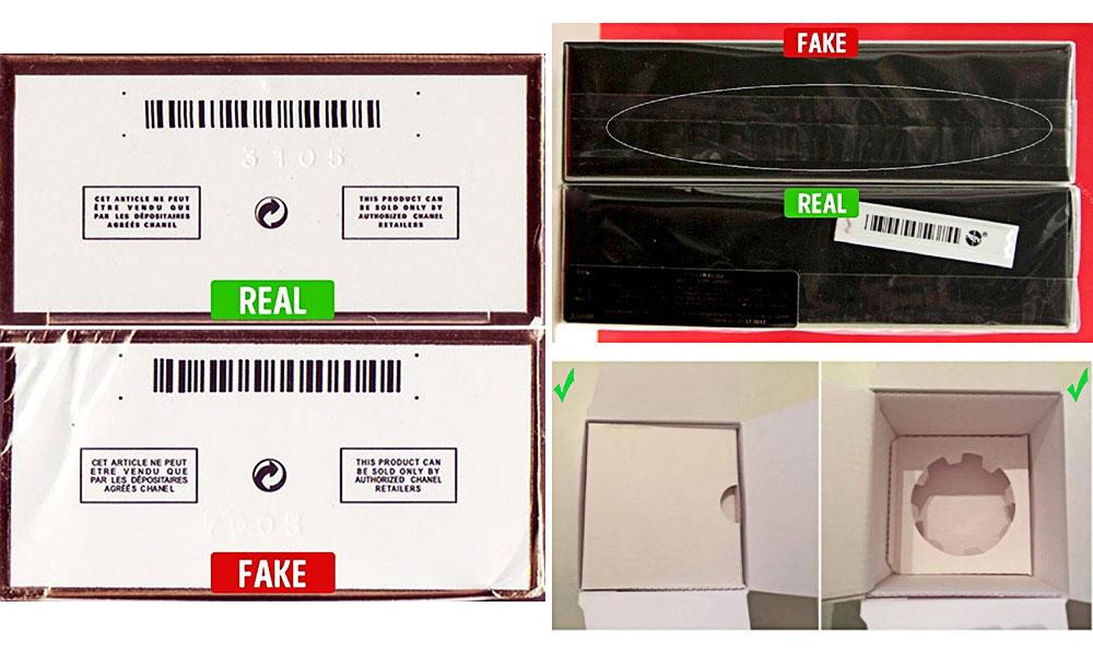 تشخیص عطر اصل از تقلبی - بررسی بستهبندی عطر